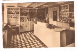 Sanatorium Militaire De Marchin - La Pharmacie - Circulée En 1933 - Marchin