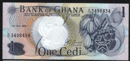 GHANA : Banconota 1 Cedis - 1971 - P10 - FDS - Ghana