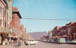 228345-Kentucky, Middlesboro, Business Section, Looking East, 1950s Cars, Manring Theatre, Colourpicture No P19028 - Owensboro