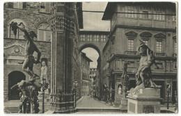 """Firenze - """"Interno Della Loggia Dei Lanzi"""" - Sculture"""