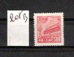 CHINE 1950 / YT 835A (D)*  Neuf Sans Gomme  Cote 2006 = 1.50 Euros    { Lot B } - Neufs