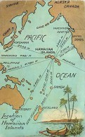 228353-Hawaii, Hawaiian Islands, Location Of Hawaiian Islands Map, Island Curio Co 22685 - Verenigde Staten