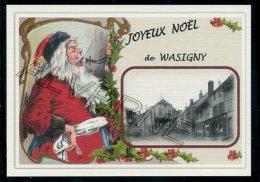 08  WASIGNY   .....joyeux Noel ..  Souvenir  Creation Moderne Série Lnumerotée 1 à 10 ... N° 3/10 - Frankreich