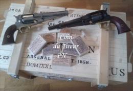 24 Cartouches Papiers Pour Armes à Poudre Noire Cal 44 - Armes Neutralisées