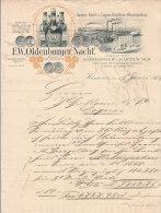 HANNOVER .- F.W. OLDENBURGER NACHF  Liqueurs U. Fabrik - Deutschland
