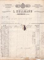 NUREMBERG .- L. HELLMANN  Manufacture De Vannerie Fine - Allemagne