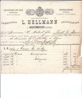 NUREMBERG .- L. HELLMANN   Sculpures Sur Bois - 1800 – 1899