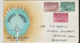 Mly022/  MALAYSIA - National Monument 1965 FDC - Malaysia (1964-...)