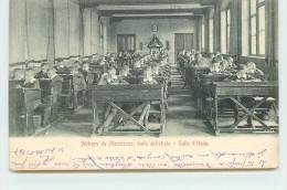 ANHEE - Abbaye De Maredsous, école Abbatiale, Salle D'étude. - Anhée
