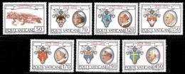 Vatican 0678/84** Cite Du Vatican MNH - Vatican