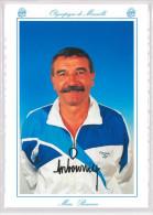 Carte Postale Olympique De Marseille - OM Saison 1994/1995 Marc Bourrier (entraineur) - Calcio