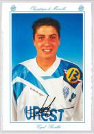 Carte Postale Olympique De Marseille - OM Saison 1994/1995 RevilletCyril 19 Ans 68 Kg 1m70 - Calcio