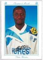 Carte Postale Olympique De Marseille - OM Saison 1994/1995 WacouboueDidier 20 Ans 75 Kg 1m80 - Calcio