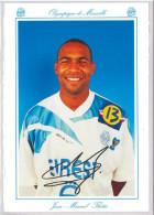 Carte Postale Olympique De Marseille - OM Saison 1994/1995 ThétisJean-Manuel 22 Ans 84 Kg 1m87 - Calcio