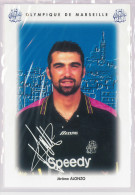 Carte Postale Olympique De Marseille - OM Saison 1995/1996 AlonzoJérôme 22 Ans 83 Kg 1m86 - Calcio