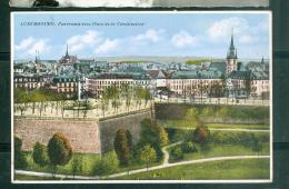 Luxembourg - Panorama Avec Place De La Constitution   - Fab122 - Luxembourg - Ville