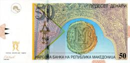 Makedonija,Macedonia,Maze Donien,Macedoine,50 Denari,2007,Pick15e,see Scan - Macedonia