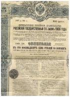 GOUVERNEMENT  IMPERIAL DE RUSSIE EMPRUNT DE L'ETAT RUSSE 5% 1906 - Actions & Titres