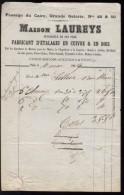 PARIS - Maison Laureys - Fabricant D'étalages En Cuivre Et En Bois - Passage Du Caire - 1869 - 1800 – 1899