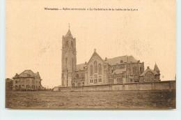 "WARNETON - Eglise Surnommée ""la Cathédrale De La Vallée De La Lys"". - Comines-Warneton - Komen-Waasten"