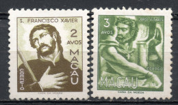 China Chine : (6130) 1951 Macau Macao - Portraits Illustres SG440, 441* - China
