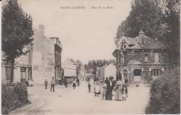 Oise :  MONTATAIRE  :  Rue De  La  Gare - Montataire