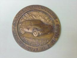 Médaille Championnat Du Monde Renaut Spercino GT Turbo - France