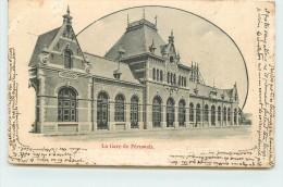 PERUWELZ  - La Gare, Carte Vendue En L'état. - Péruwelz