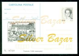 INTERO POSTALE - INTERI POSTALI - CARTOLINA POSTALE - IPZS - I.P.Z.S-PISOGNE-FUNGHI E CASTAGNE-FOLCLORE-MANIFES TAZIONI - 6. 1946-.. Repubblica