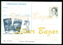 INTERO POSTALE - INTERI POSTALI - CARTOLINA POSTALE - IPZS - I.P.Z.S-CISTERNA DI LATINA-BORSE COLLEZIONISMO-ESPOSIZIONI - 6. 1946-.. Repubblica