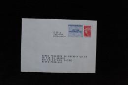 PAP REPONSE BEAUJARD BARON PHILIPPE DE ROTHSCHILD SA 13P254 - Entiers Postaux