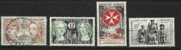 """FR YT 1060 1061 1062 1063 """" TP De L'année """" 1956 Oblitéré - Usati"""