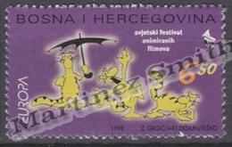 Bosnia Herzegovina - Mostar - Croatia 1998 Yvert 30 Europa Cept. National Festivals - MNH - Bosnia And Herzegovina