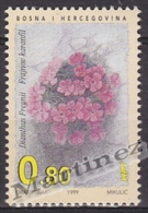 Bosnia Herzegovina - Mostar - Croatia 1999 Yvert 38, Flora, Flowers - MNH - Bosnia Herzegovina