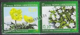 Bosnia Herzegovina - Mostar - Croatia 2006 Yvert 164-65, Flora, Wild Flowers - MNH - Bosnia Herzegovina