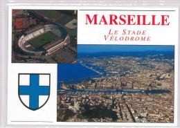 Carte Postale Olympique De Marseille - OM :  Stade Vélodrome (1) - Soccer