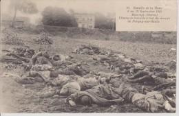 Maurupt Bataille De La Marne  Guerre 14 18 Champ De Bataille - France