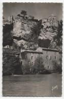 FRANCE ~ Photo Postcard VAISON LA ROMAINE (Vancluse) 1953 Foot Of Old Village - Vaison La Romaine