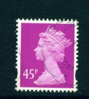 GREAT BRITAIN  -  1993 To 2008  Queen Elizabeth Machin Definitive  45p  Used As Scan - Série 'Machin'