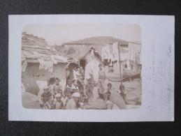 Rare Photo Postcard - Üsküb, Skopje, Skoplje - Village - Macedonia