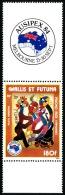 WALLIS ET FUTUNA 1984 - Yv. PA 139 ** SUP Bdf  Cote= 5,40 EUR - Ausipex'84. Tapisserie Pilioko Aloi ..Réf.W&F21627 - Luftpost