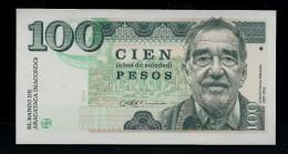 """COLOMBIA 100 Pesos"", Entwurf, Beids. Druck, RRRR, UNC, Ca. 145 X 75 Mm, Essay, Trial - Kolumbien"
