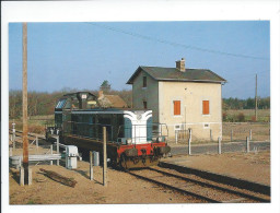 BRAY EN VAL (Loiret) Le Train à Bray N° 3 - Other Municipalities