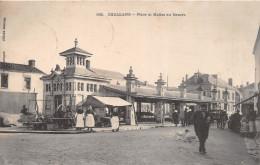 ¤¤   -   562   -   CHALLANS    -  Place Et Halles Au Beurre   -  Marché  -  ¤¤ - Challans