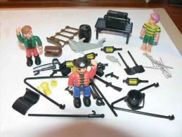 Playmobil - Petit Lot Personnages 3 Corsaires Plus Divers Voir Scan - Playmobil