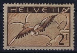 Switserland  Air Mail Yv Nr 15b , Mi Nr 245x  MH/* - Posta Aerea