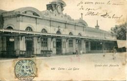 451   CETTE - La Gare - Sete (Cette)