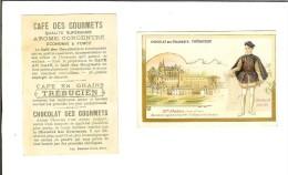Chromo Imp Romanet/Café Trébuchien : Chateau D'Amboise Et Charles IX - Thé & Café