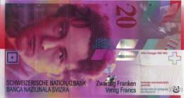 Switzerland 20 Francs (P69) 2008 -UNC- - Suiza