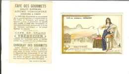 Chromo Imp Romanet/Café Trébuchien : Chateau De Versailles Et Louis XIV - Thé & Café